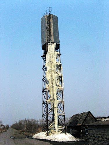 Водонапорная башня защита от правления ржавления