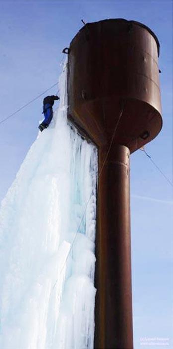 Водонапорная башня защита от замерзания
